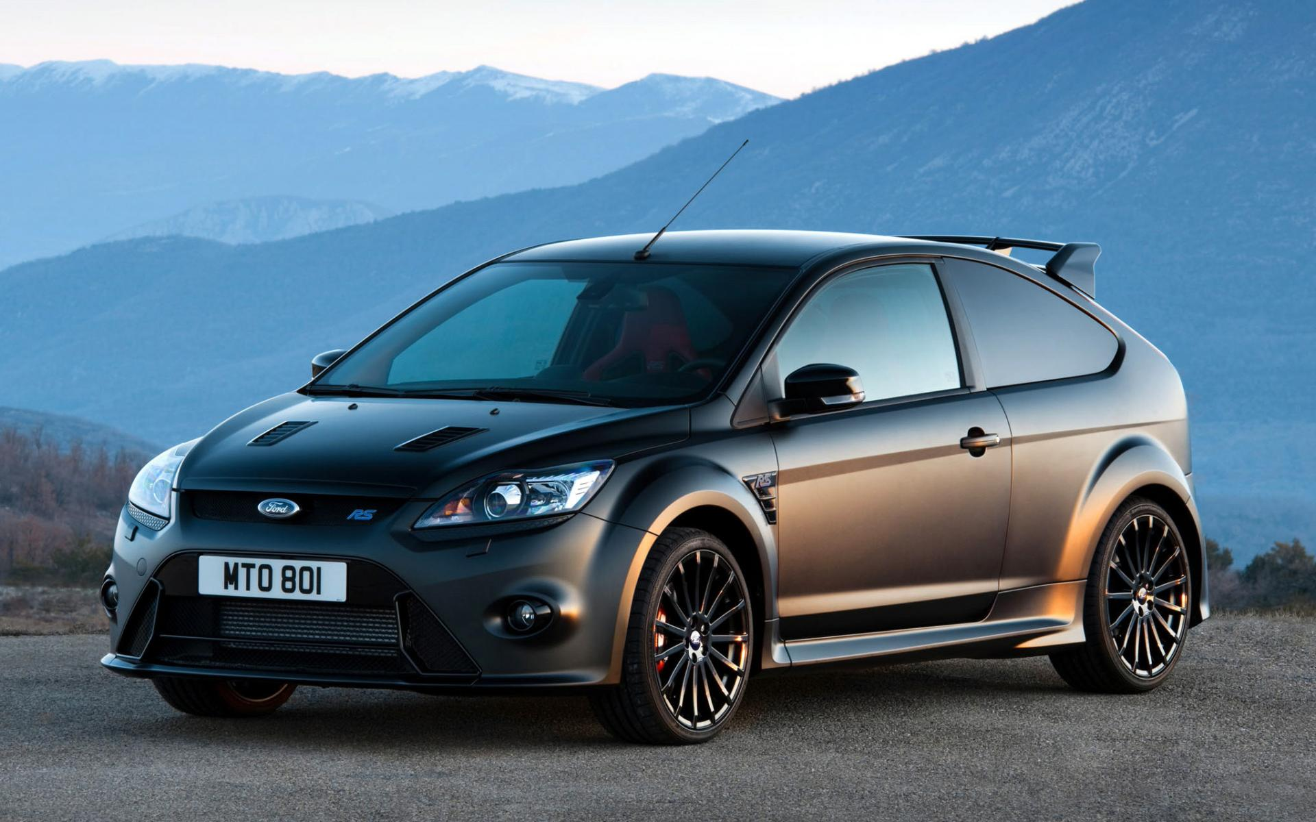 Ford Fiesta RS Black wallpaper downloads High resolution images 1920x1200