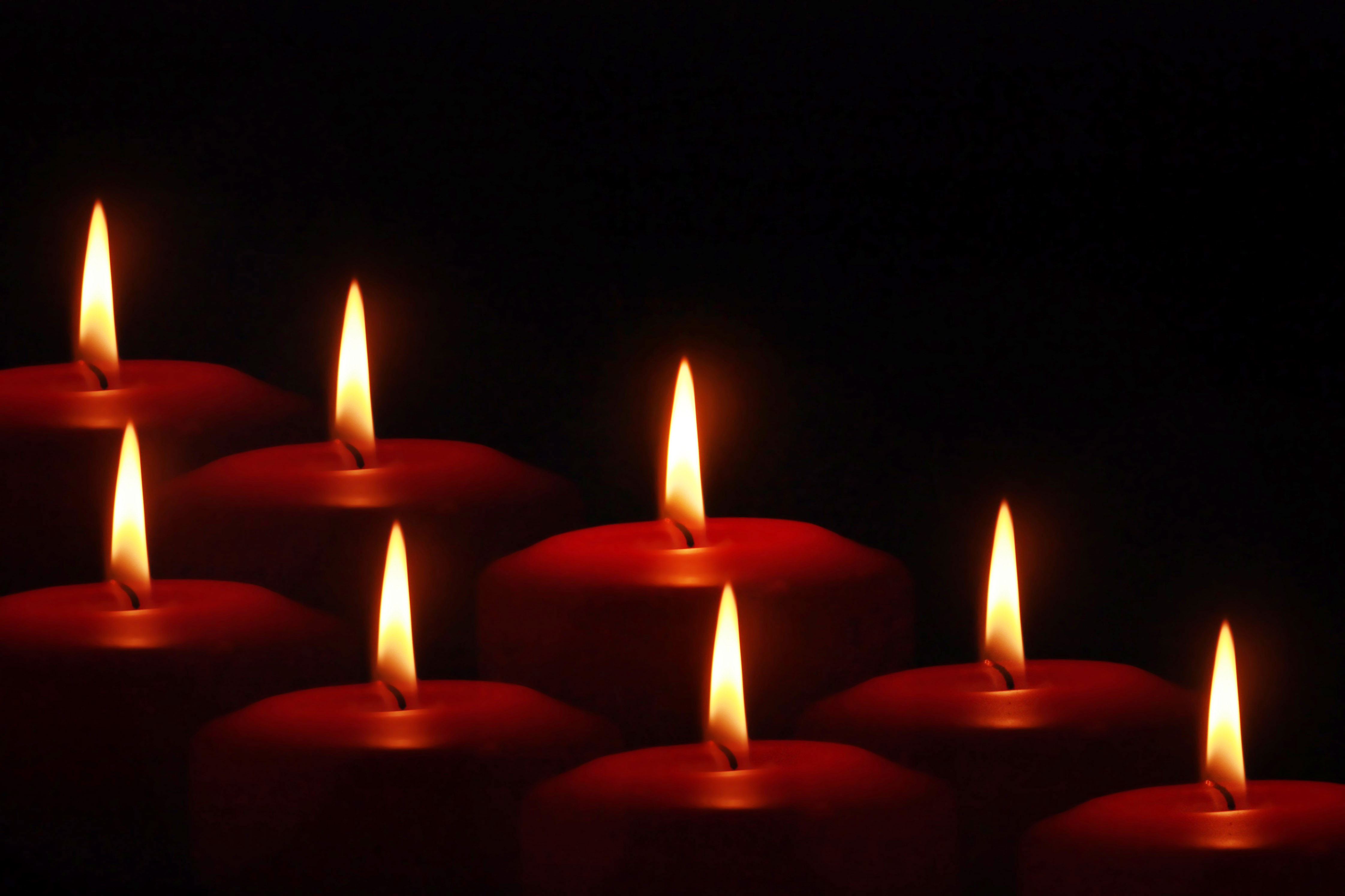 19 Great Candle Themed Christmas Wallpaper or Xmas Background 4486x2990