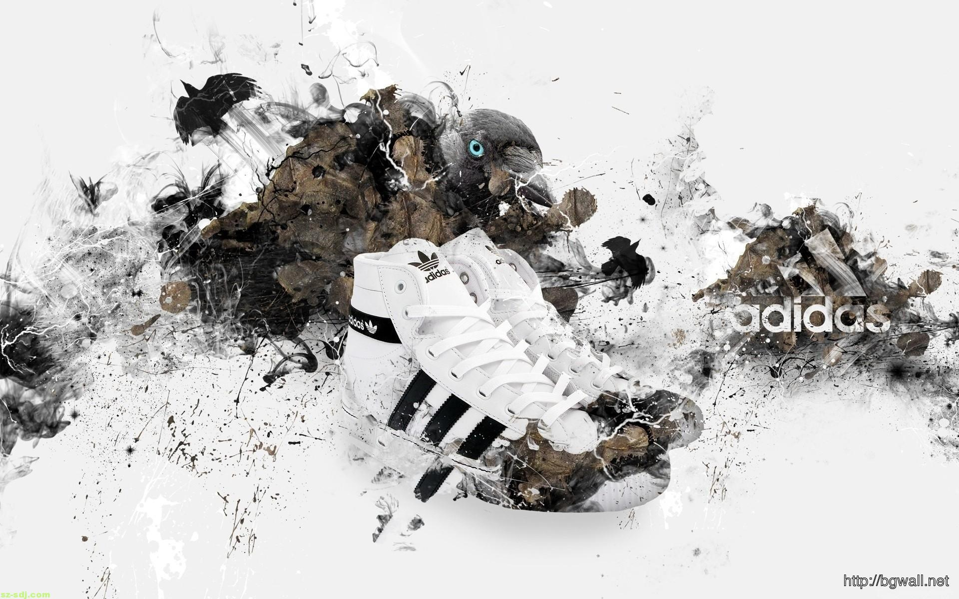 Adidas Logo Shoes Sports Wallpaper Background Wallpaper HD 1920x1200