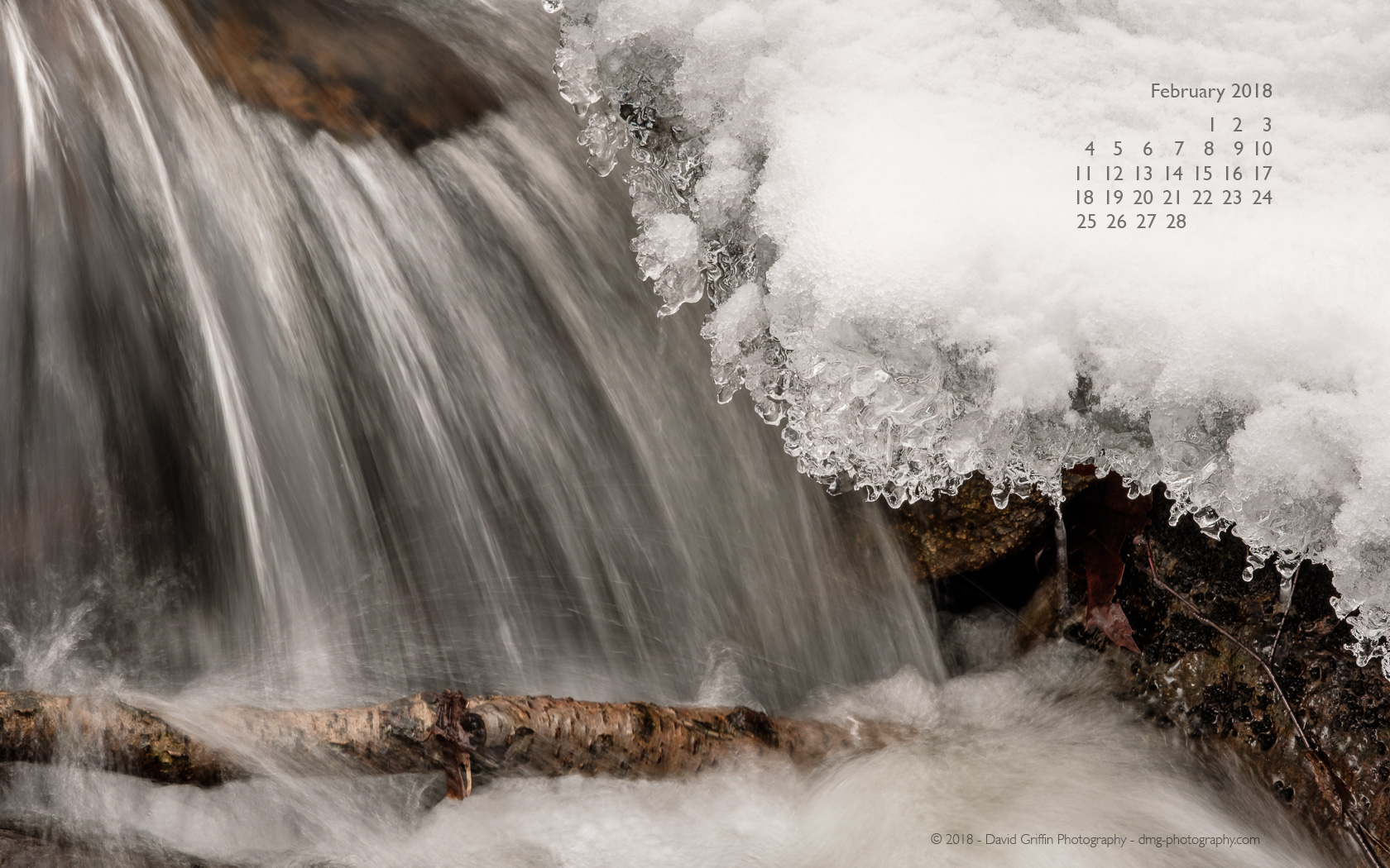 February 2018 Wallpaper David Griffin Photography 1680x1050