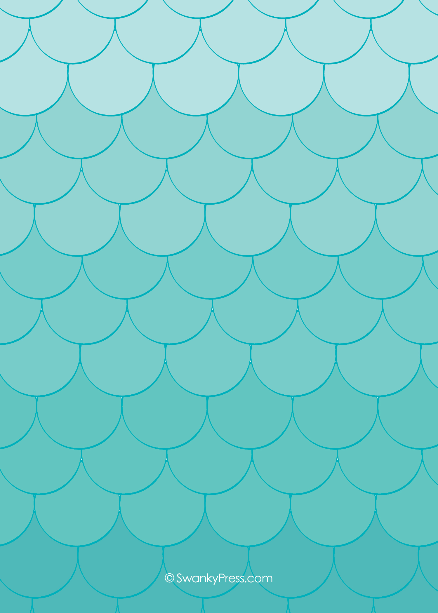 Mermaid Scale Wallpaper - WallpaperSafari