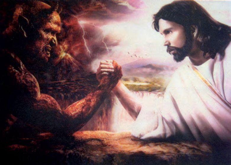 Jesus Vs Satan Foto Artis   Candydoll 780x558