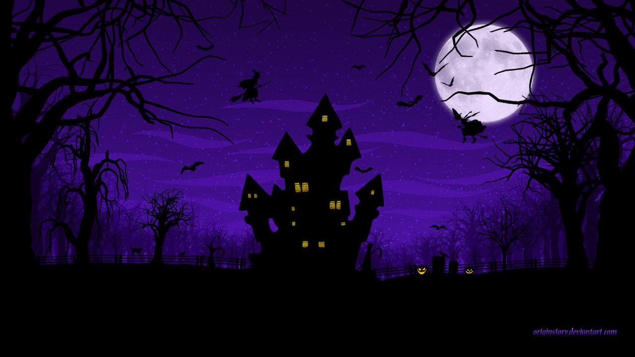 Scary halloween hd wallpaper wallpapersafari - Scary halloween wallpaper ...