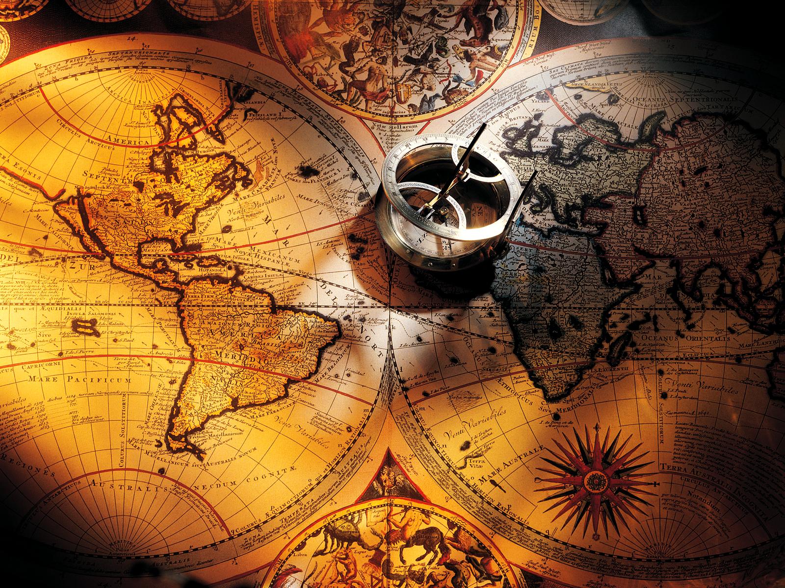 [46+] Antique World Map Wallpaper On WallpaperSafari