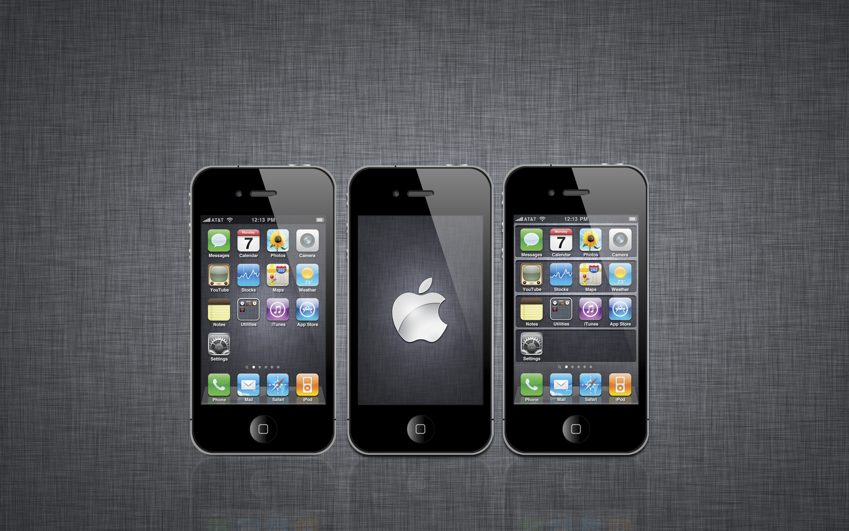 iOS 5 Wallpaper Pack by iTeppo 1680x1050