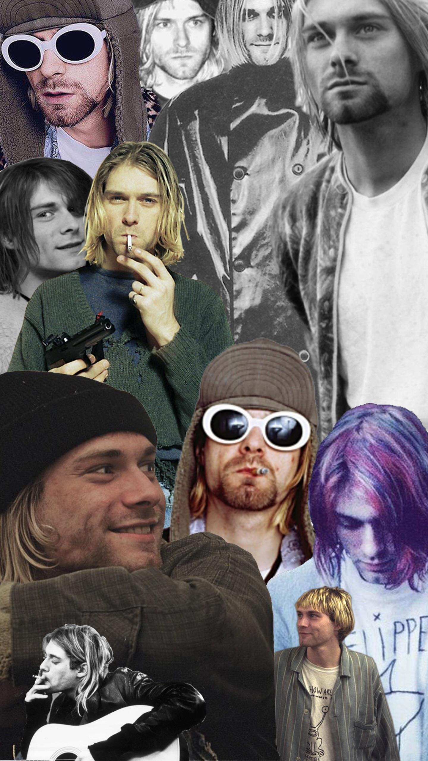 Kurt cobain wallpaper for mobile devices made by me On 2K 1440x2560