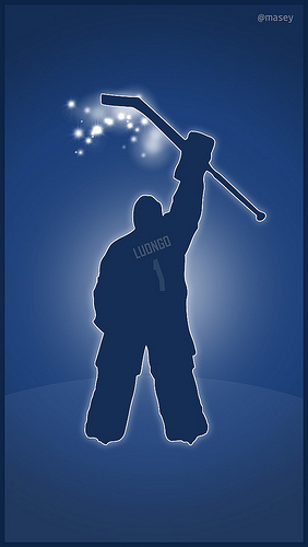 Vancouver Canucks Luongo iPhone 5 Wallpaper Flickr   Photo Sharing 282x500