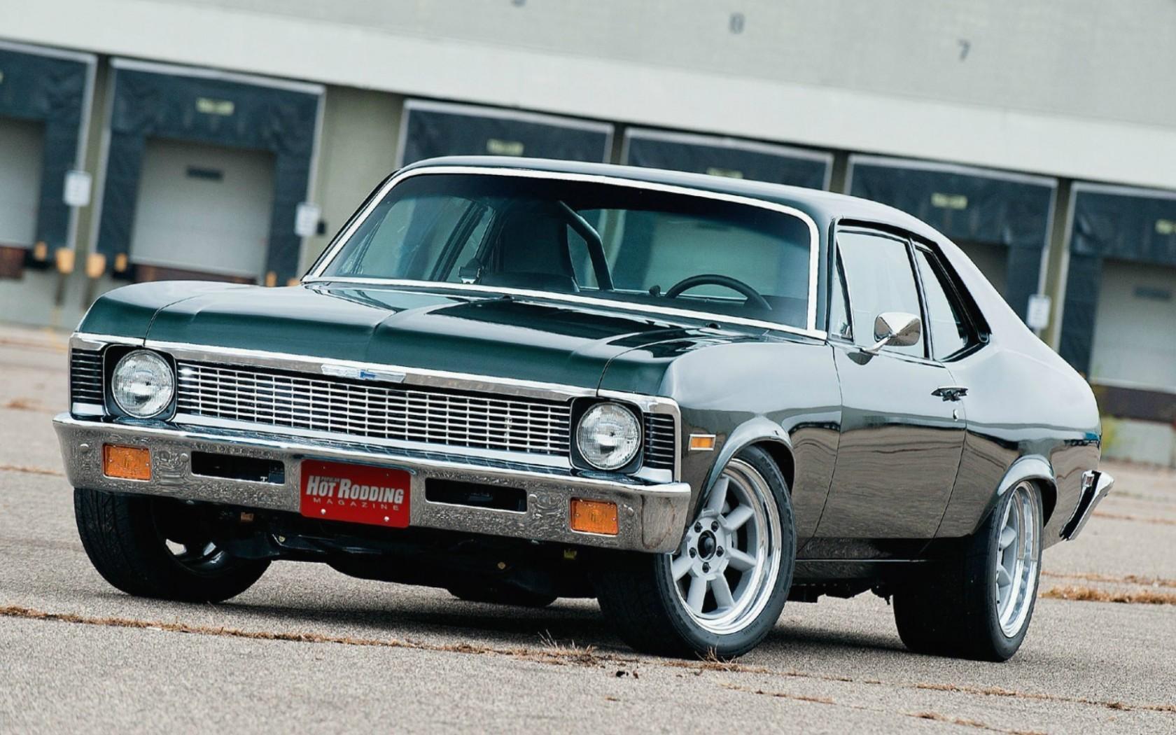 Chevrolet Nova 1970 muscle cars hot rod tuning wallpaper 1680x1050 1680x1050