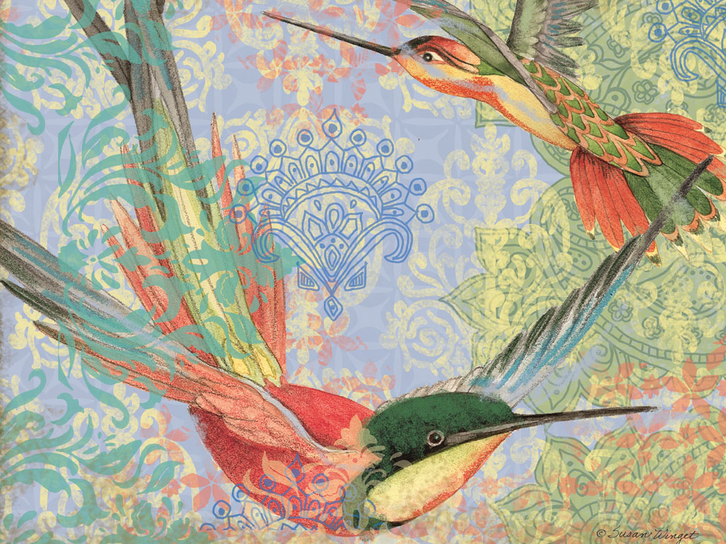 Lang Wallpaper May 2015 Bohemian Garden ART Lang Wallpaper 1024x768
