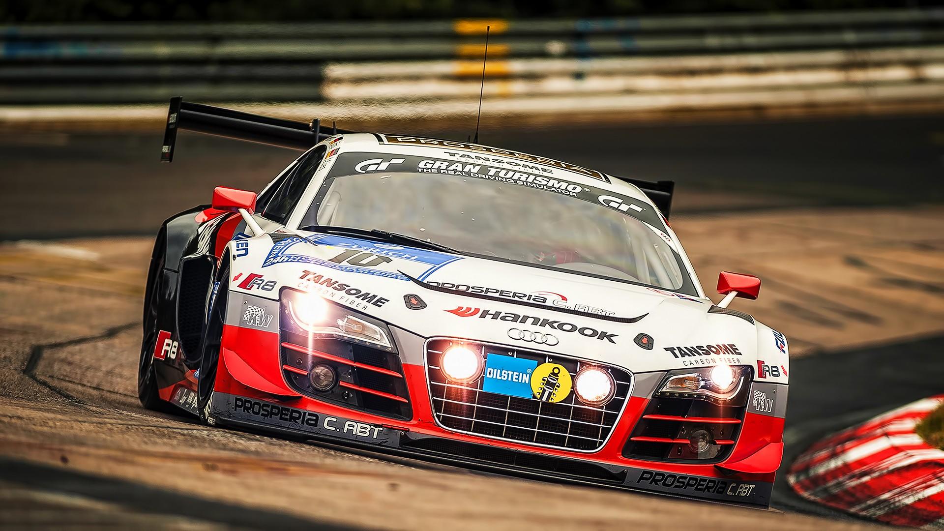 Audi R8 GT3 Racing Race Cars Wallpapers HD Desktop and Mobile 1920x1080
