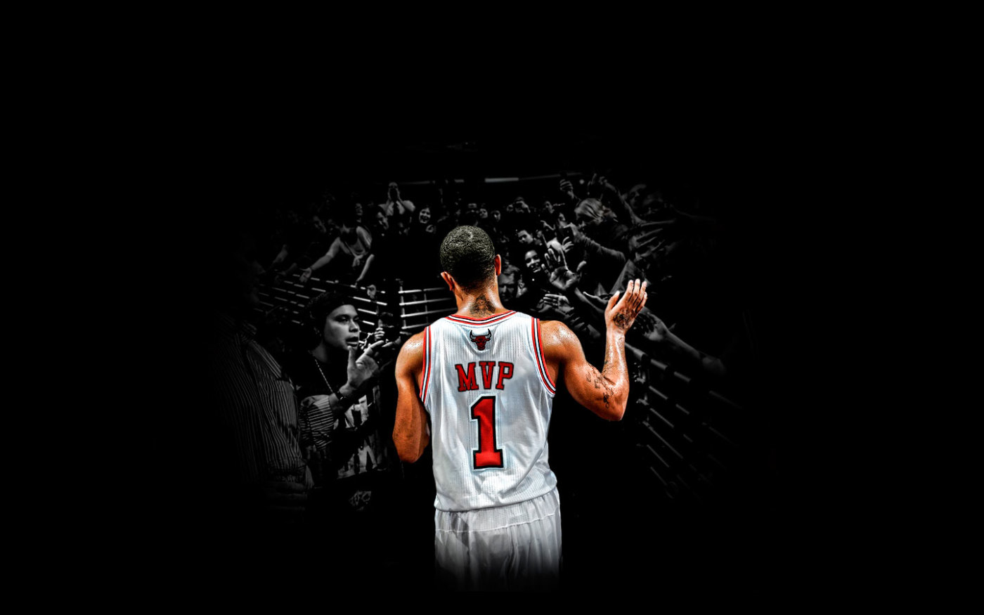 Derrick Rose Crossover Wallpaper Derrick rose mvp 2011 1400x875