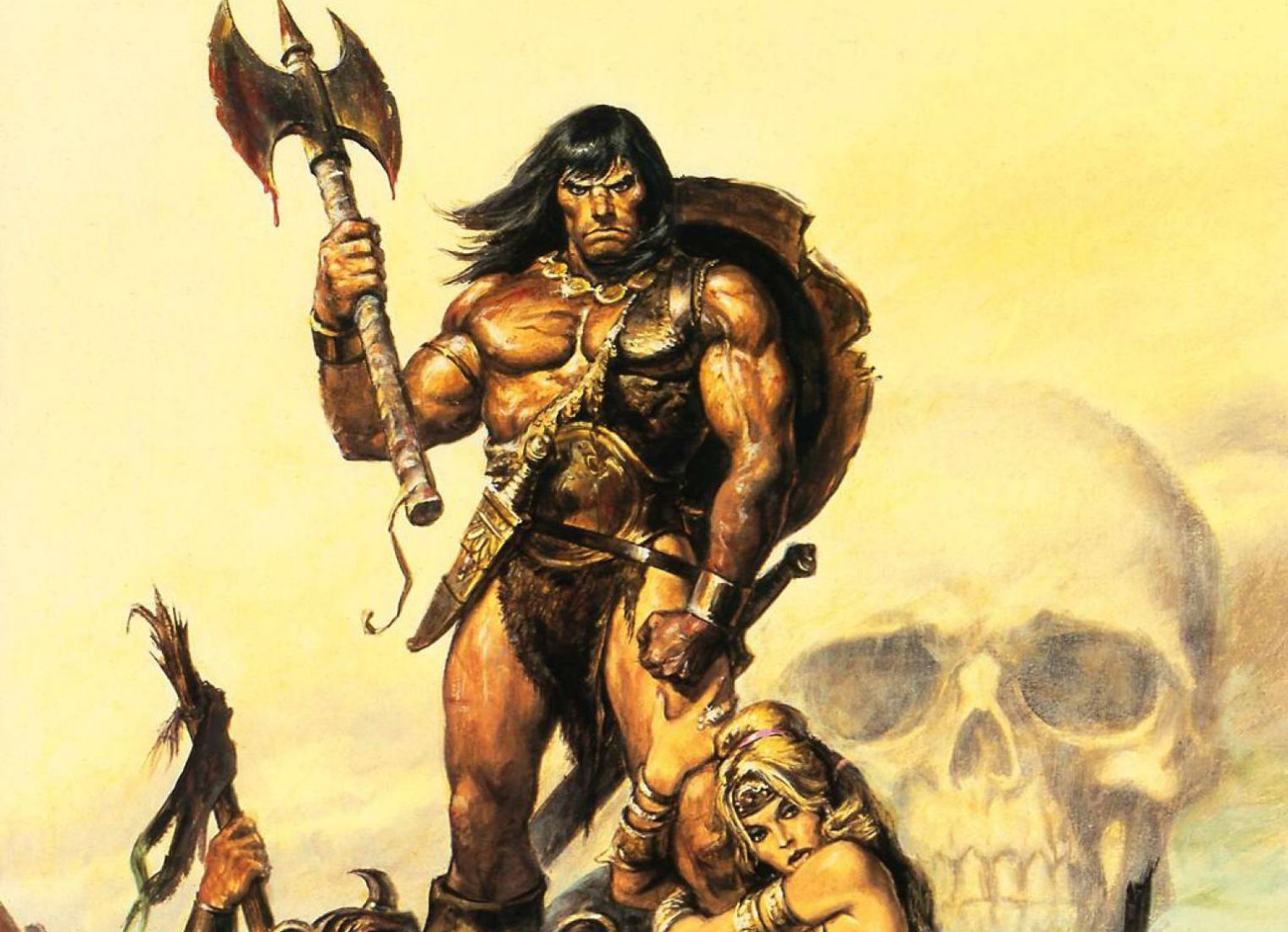 CONAN THE BARBARIAN gw wallpaper background 1520x1100