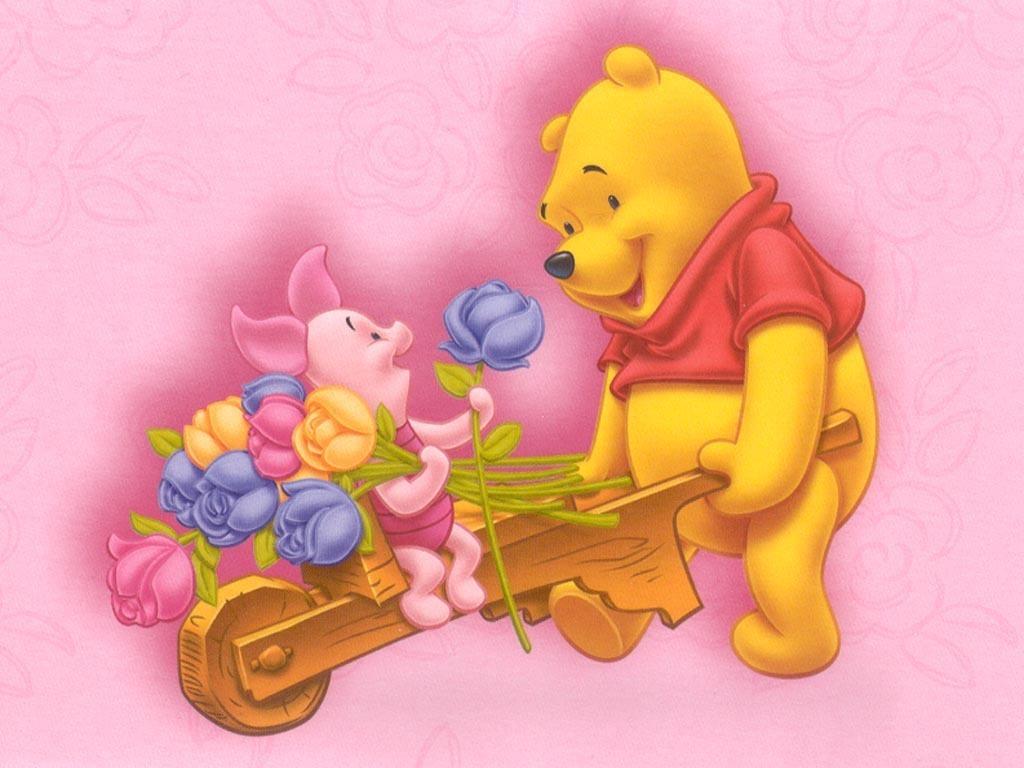 and Piglet Wallpaper   Winnie the Pooh Wallpaper 6267978 1024x768