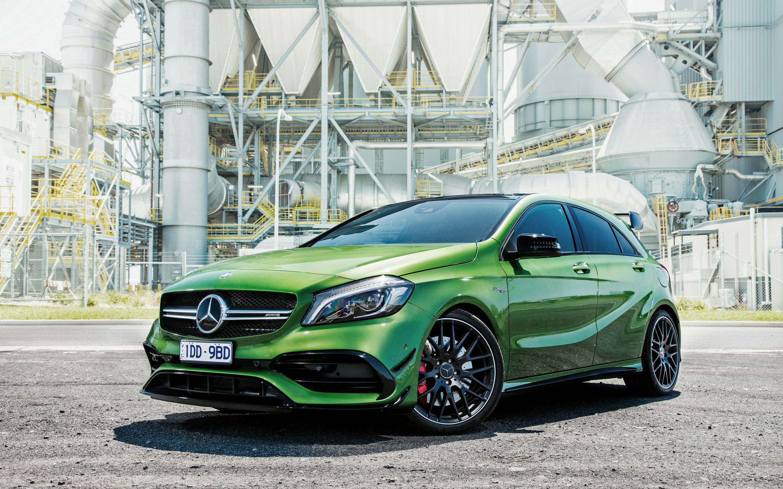 2016 Mercedes Benz A Class A45 AMG 4Matic Wallpaper HD Car 2880x1800
