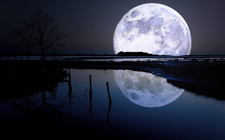 Moon Wallpapers   Top Moon Backgrounds   WallpaperAccess 2880x1800