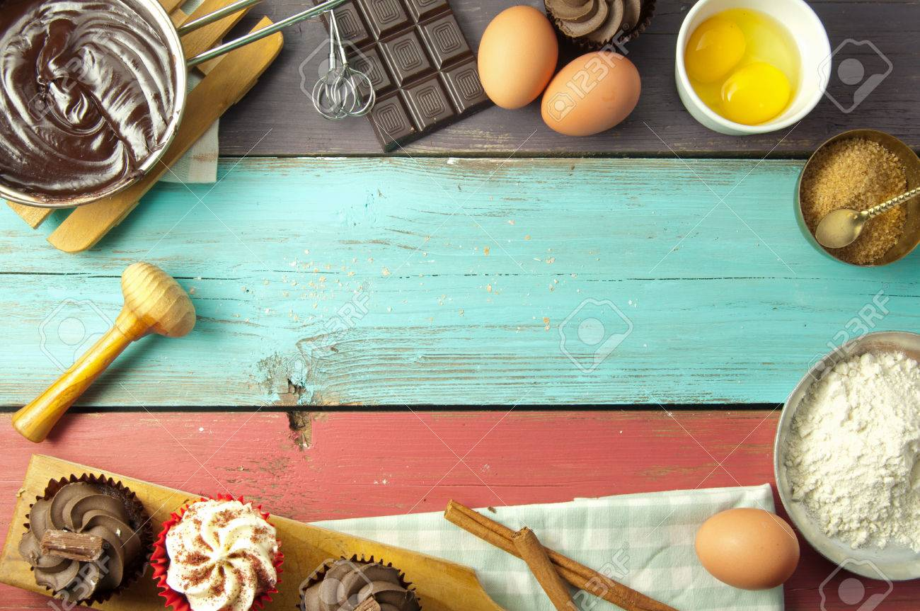 Baking Background With Space Stock Photo Picture And Royalty 1300x863