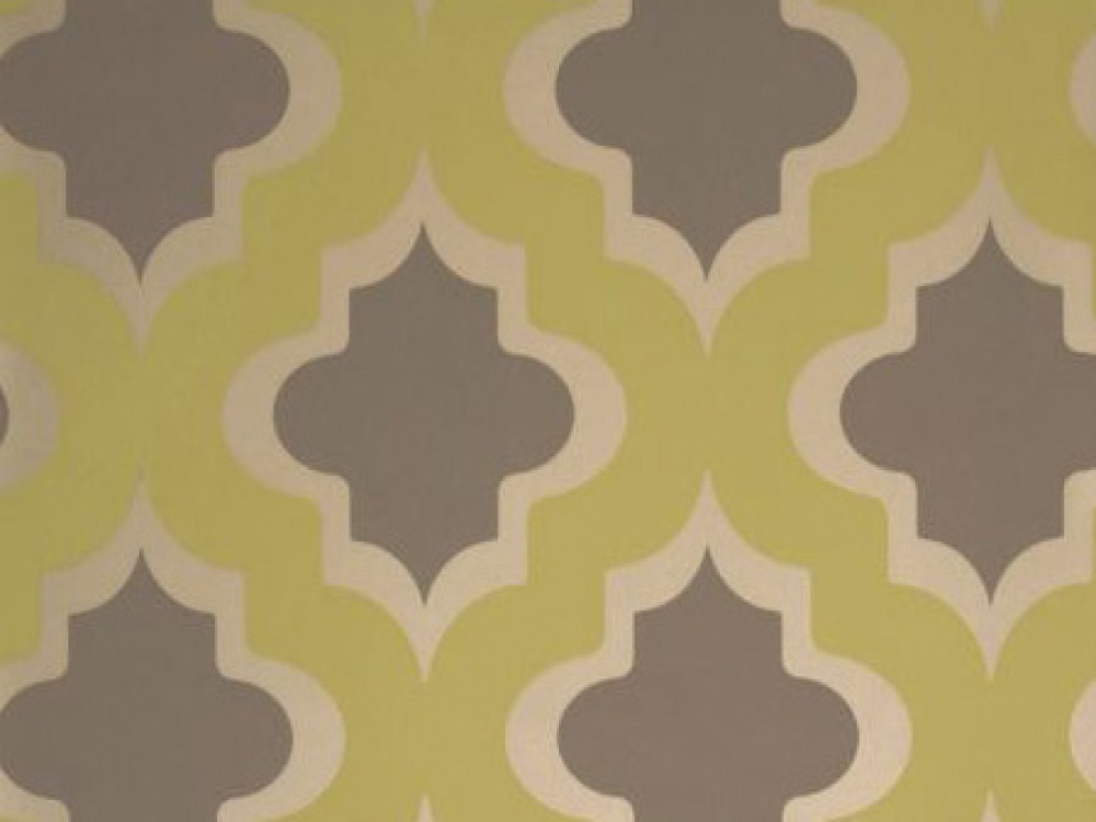 Delivery on Kasbah Citrus Grey Geometric Wallpaper 1000x750