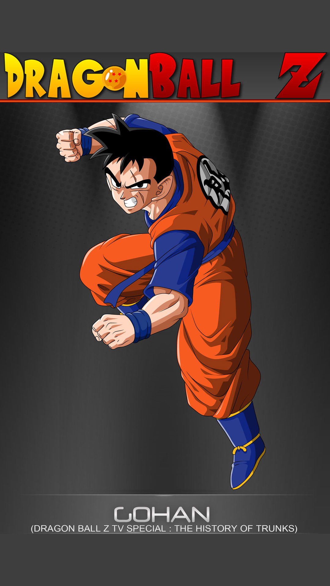 Gohan   Dragon Ball Z Mobile Wallpaper 12375 1080x1920