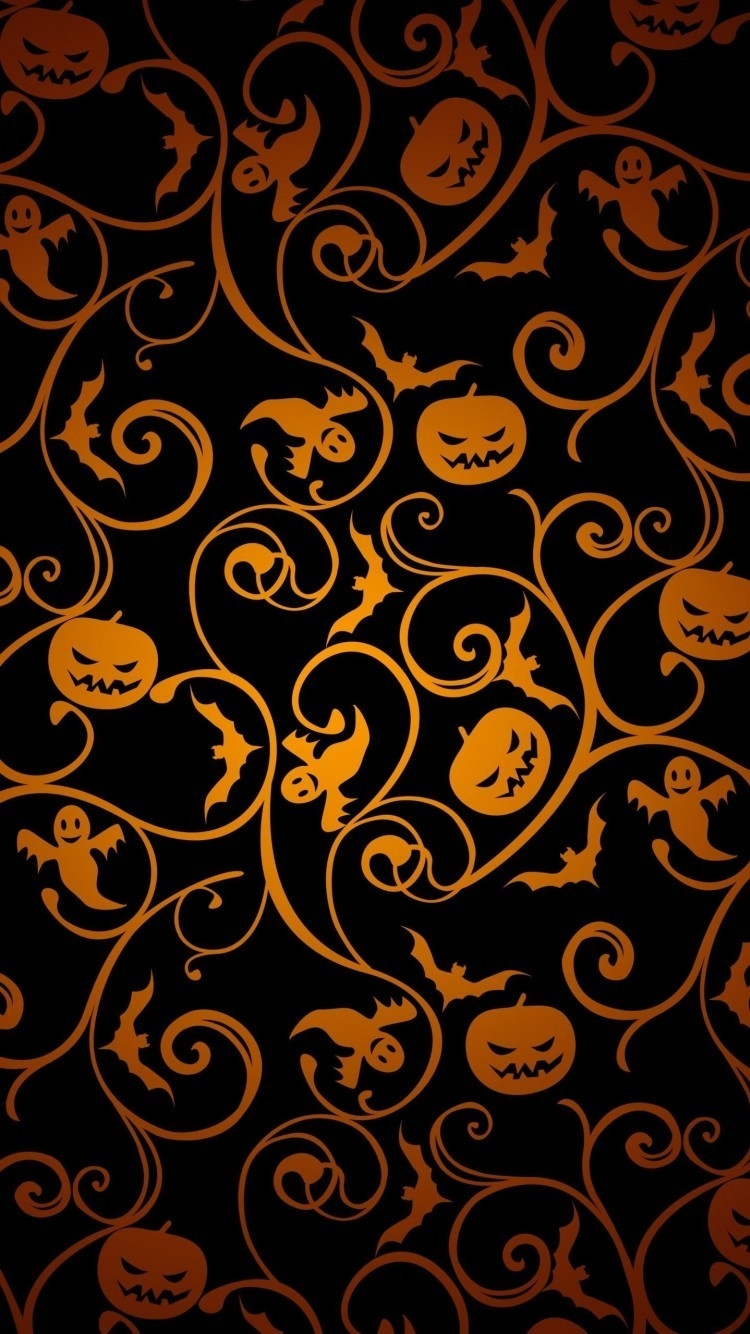Scary Halloween iPhone wallpapers 750x1334