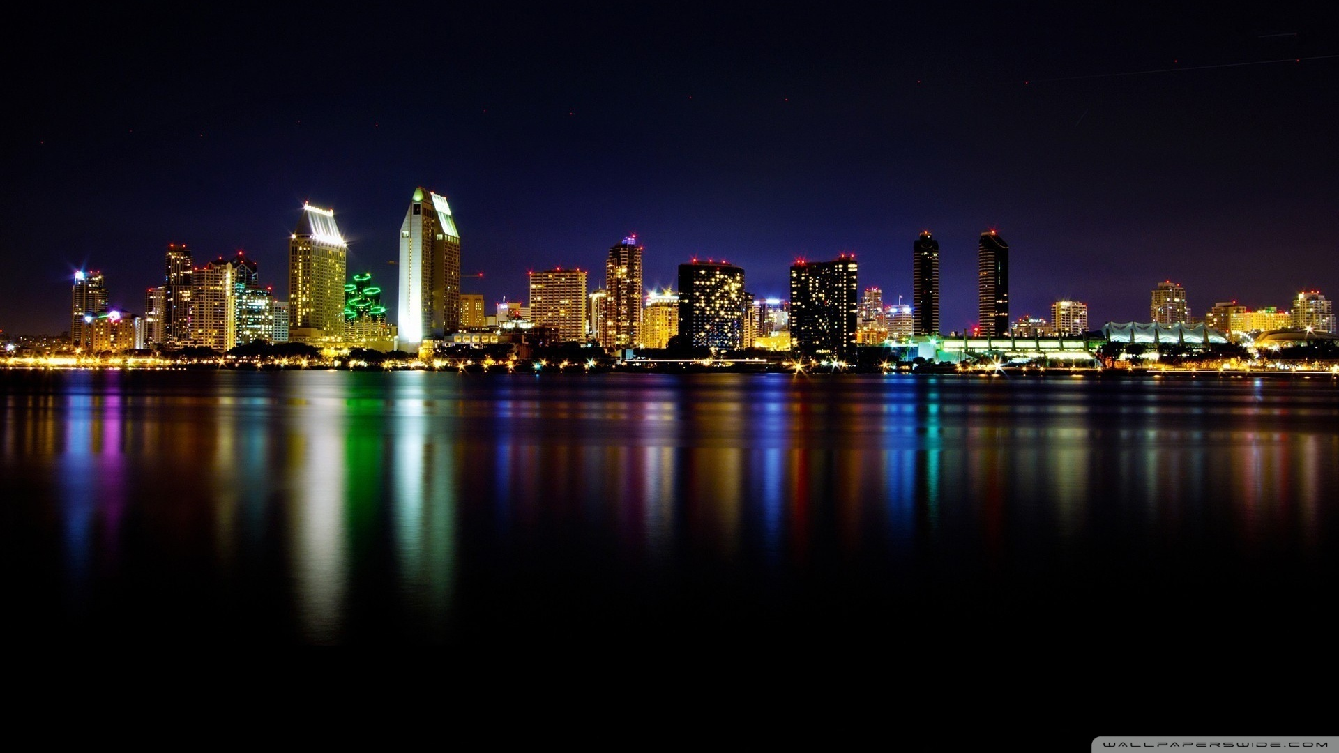 40 San Diego Skyline Wallpaper On Wallpapersafari
