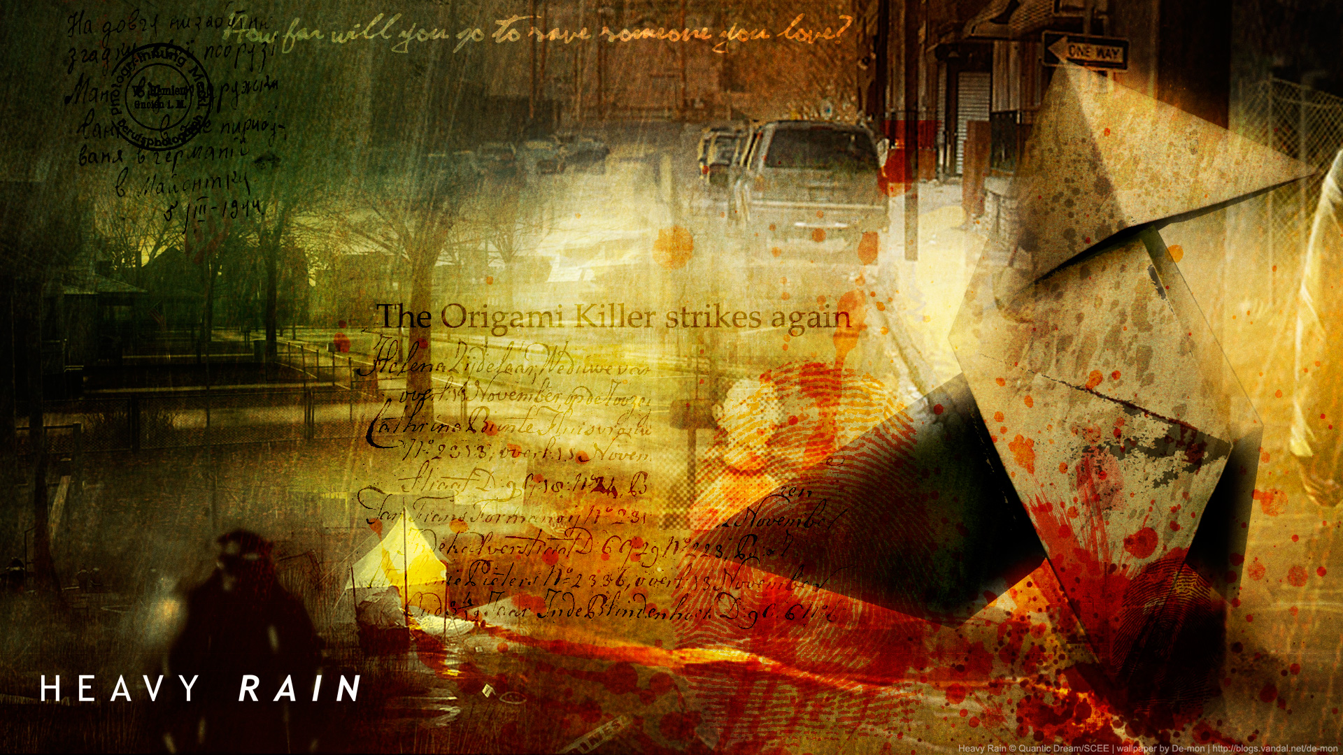 Free Download Heavy Rain Wallpaper Sammlung Trophiesde Ps4 Ps3 Ps