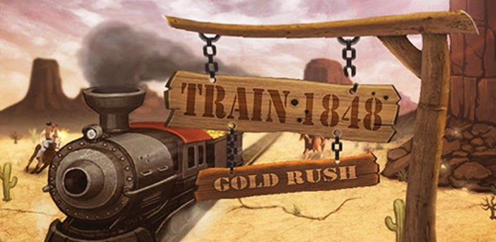 Train1848 Gold rush Android Games 365   Android 705x344