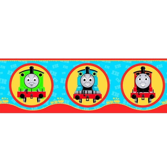 Thomas the Tank Engine Friends Children Kids Train Wallpaper Border 700x700