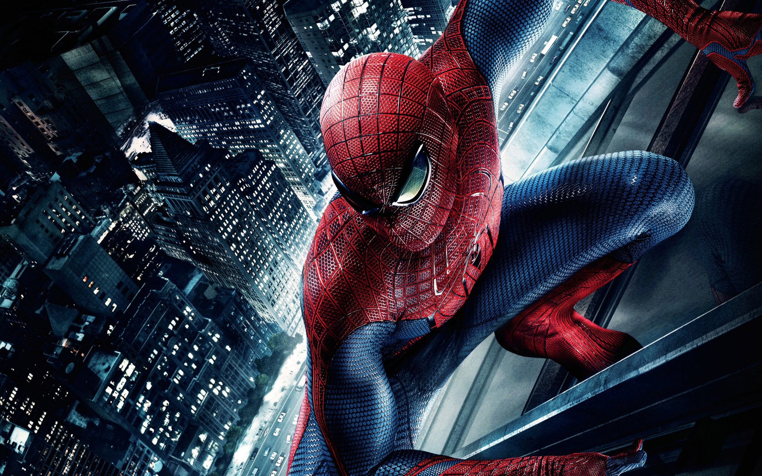 The Amazing Spider Man Over the City desktop wallpaper 2560x1600