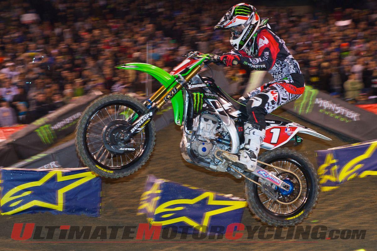 Anaheim Supercross Villopoto Wallpaper 1200x800