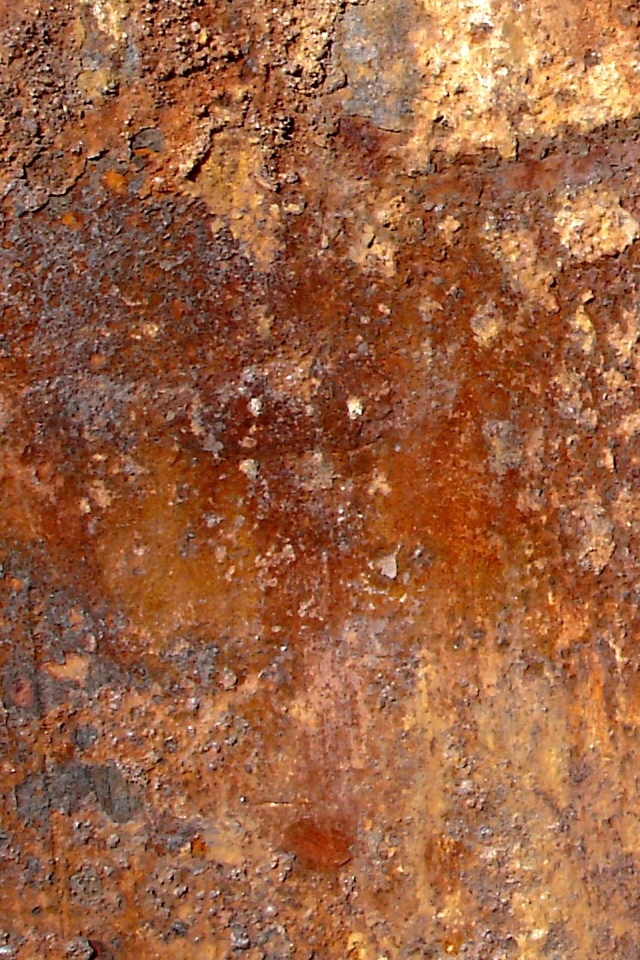 Free Download Rusted Metal Iphone 4 Wallpaper 640x960 For
