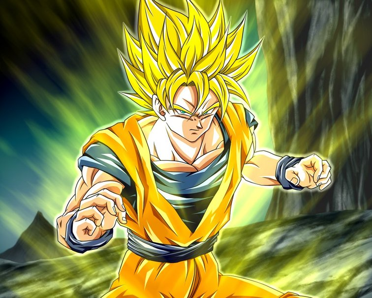 Super Saiyan Goku wallpaper   ForWallpapercom 756x606