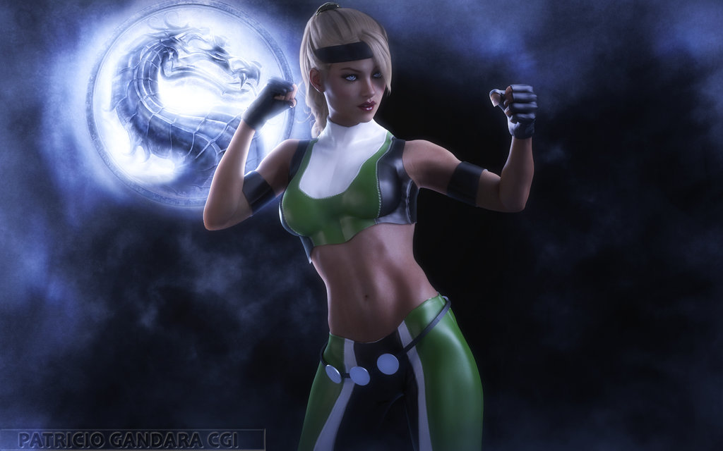 Sonya Blade Wallpaper by PGandara 1024x640
