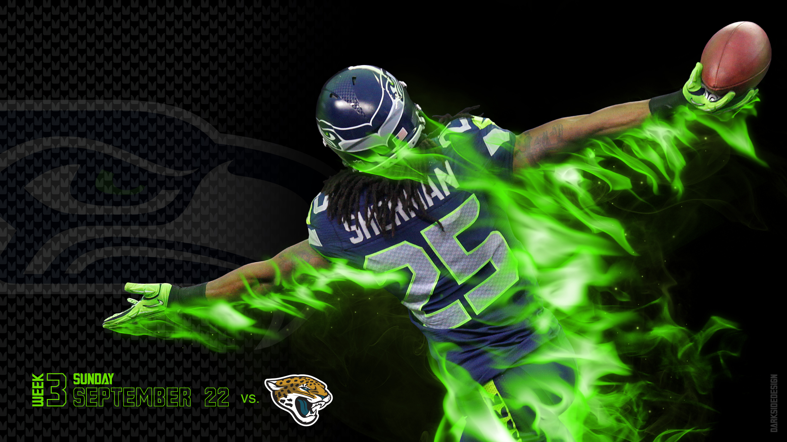 SEATTLE SEAHAWKS football nfl we wallpaper background 2560x1440