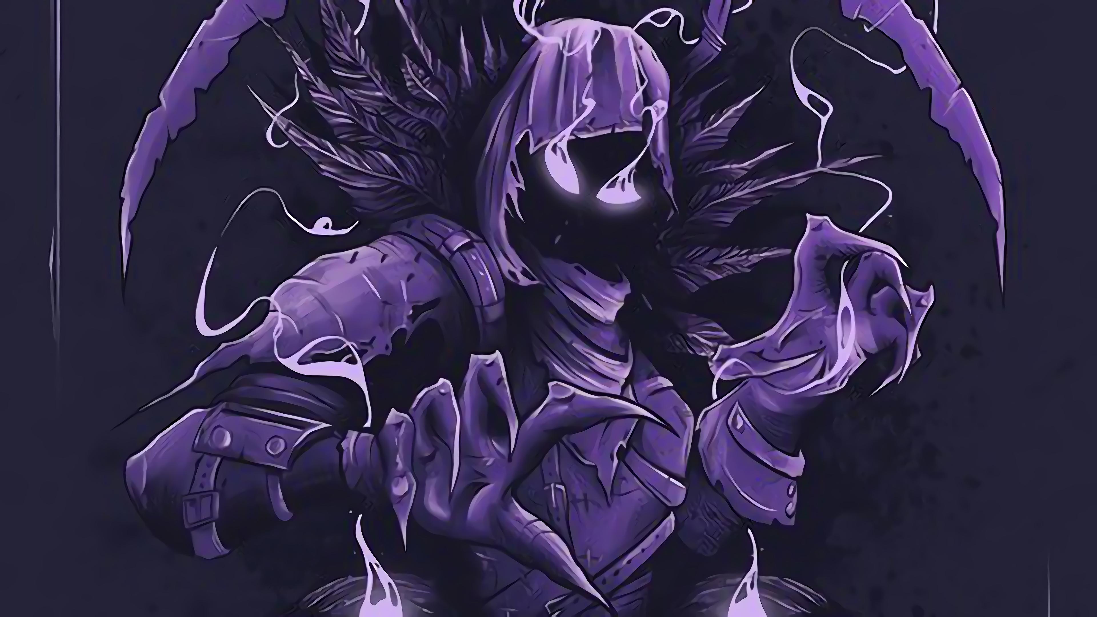 Fortnite Battle Royale Raven Art 4K 10537 3840x2160