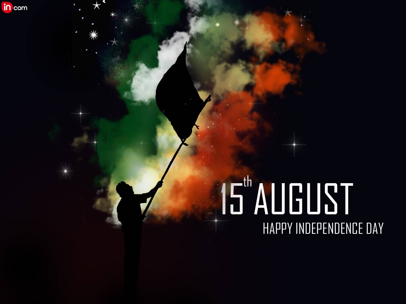 Happy independence 2015 day graphic colorful wallpapers with quotes 1600x1200