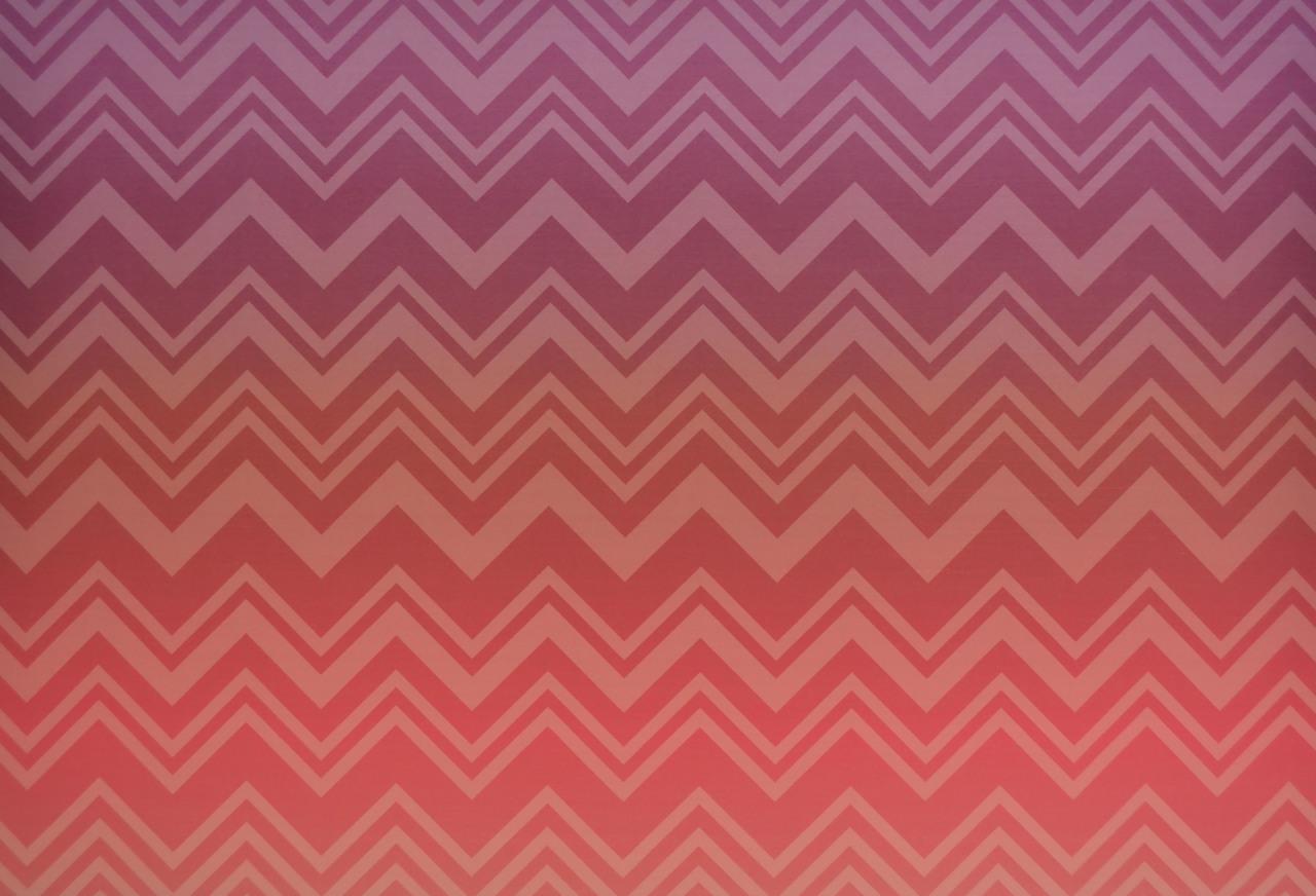 MI20091 Missoni Home Zig Zag Sfumato Wallpaper   Coral Ombre 1280x872