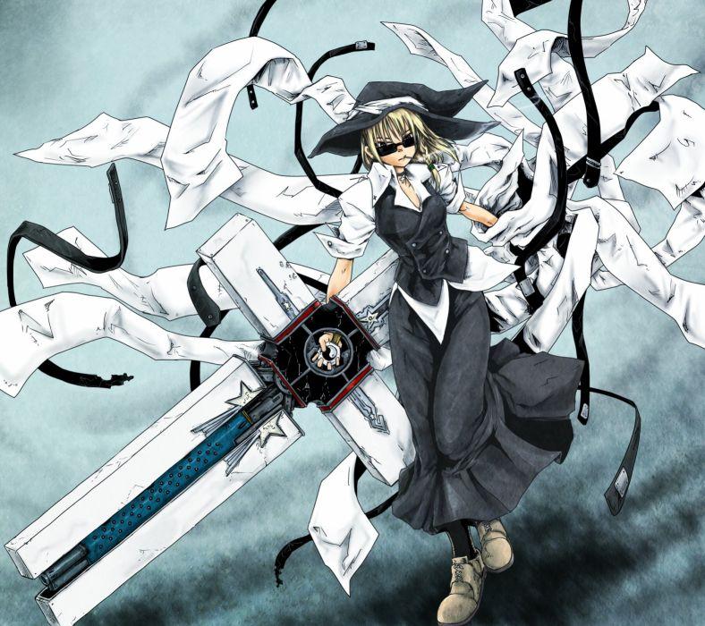 Touhou Trigun Kirisame Marisa Nicholas D  Wolfwood crossovers 788x700