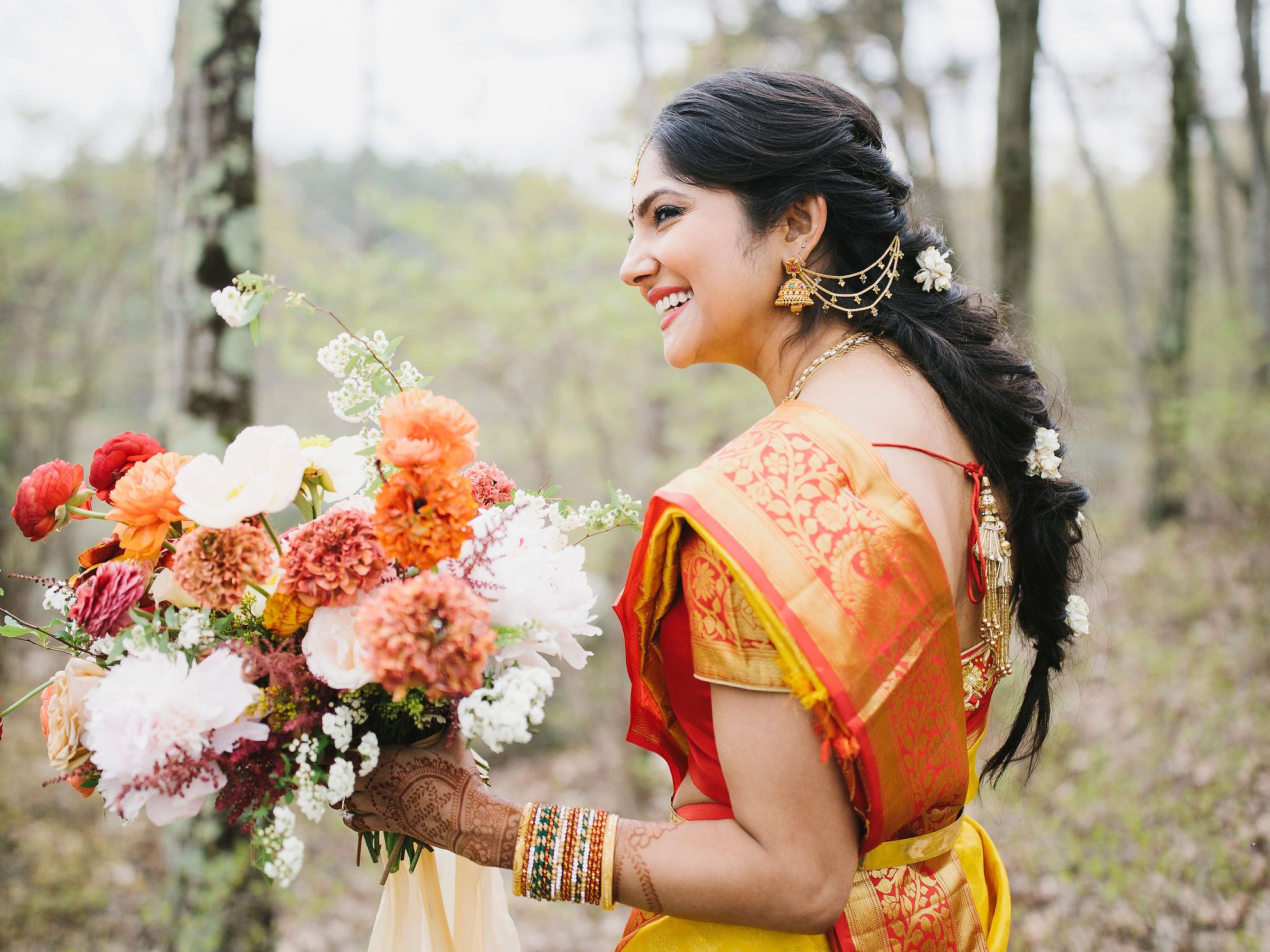 18 Beautiful Indian Wedding Hairstyles for Every Bridal Personality 2048x1536