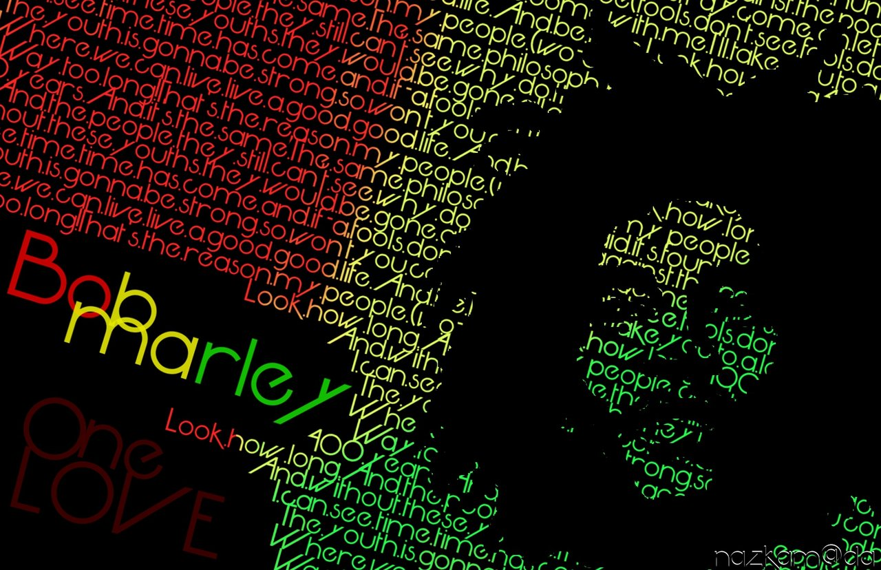 Free Download Bob Marley One Love Wallpaper 1280x828 For