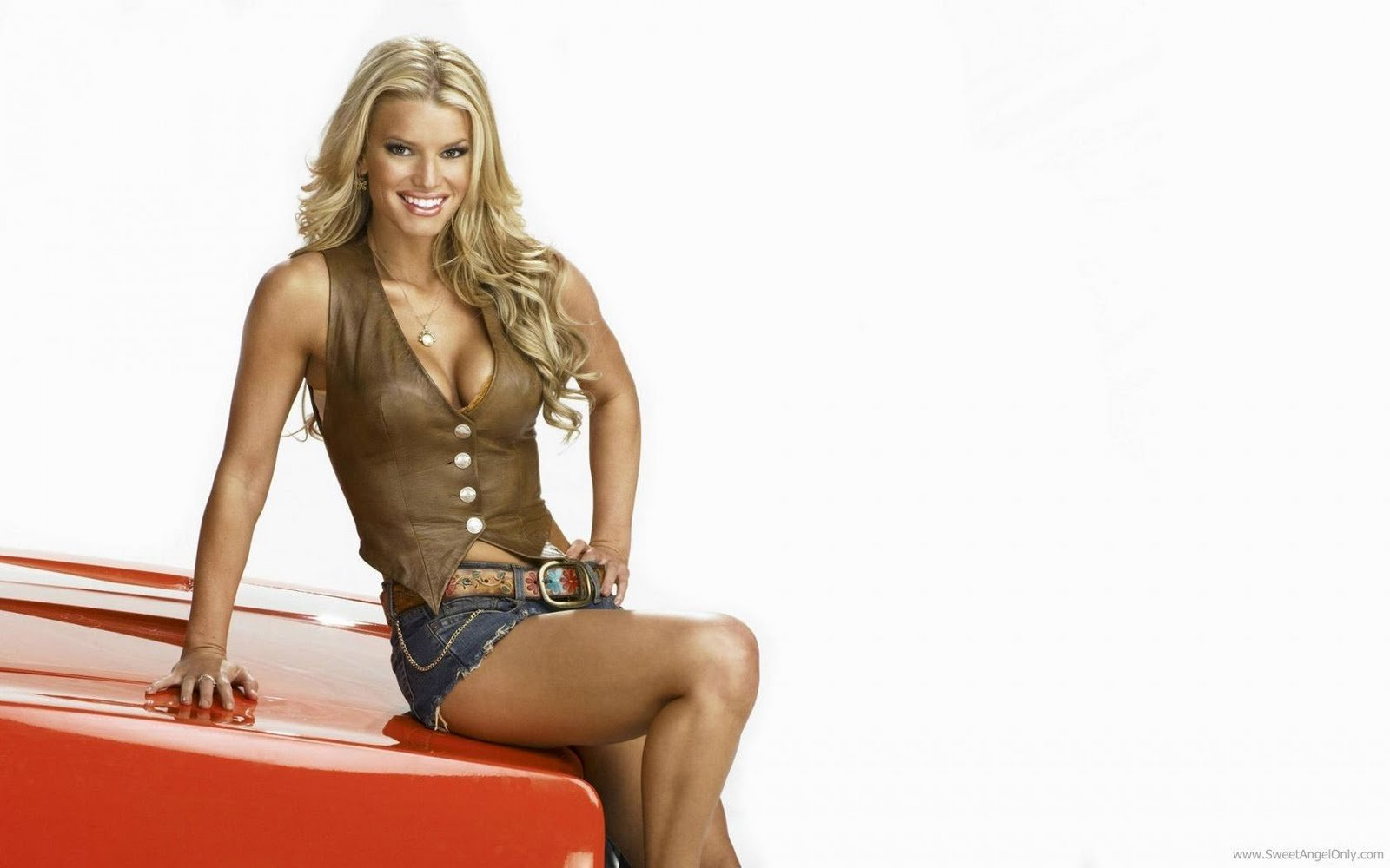 American Singer Jessica Simpson Wallpaper HD 1600x1000