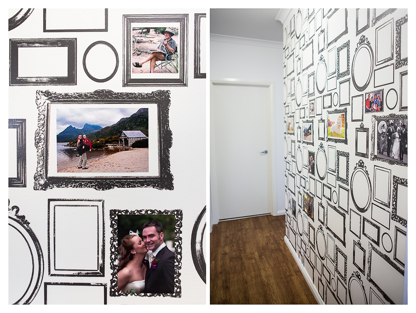 Photo Frame Wall Wallpaper Memories on Display Akemi Photography 850x640
