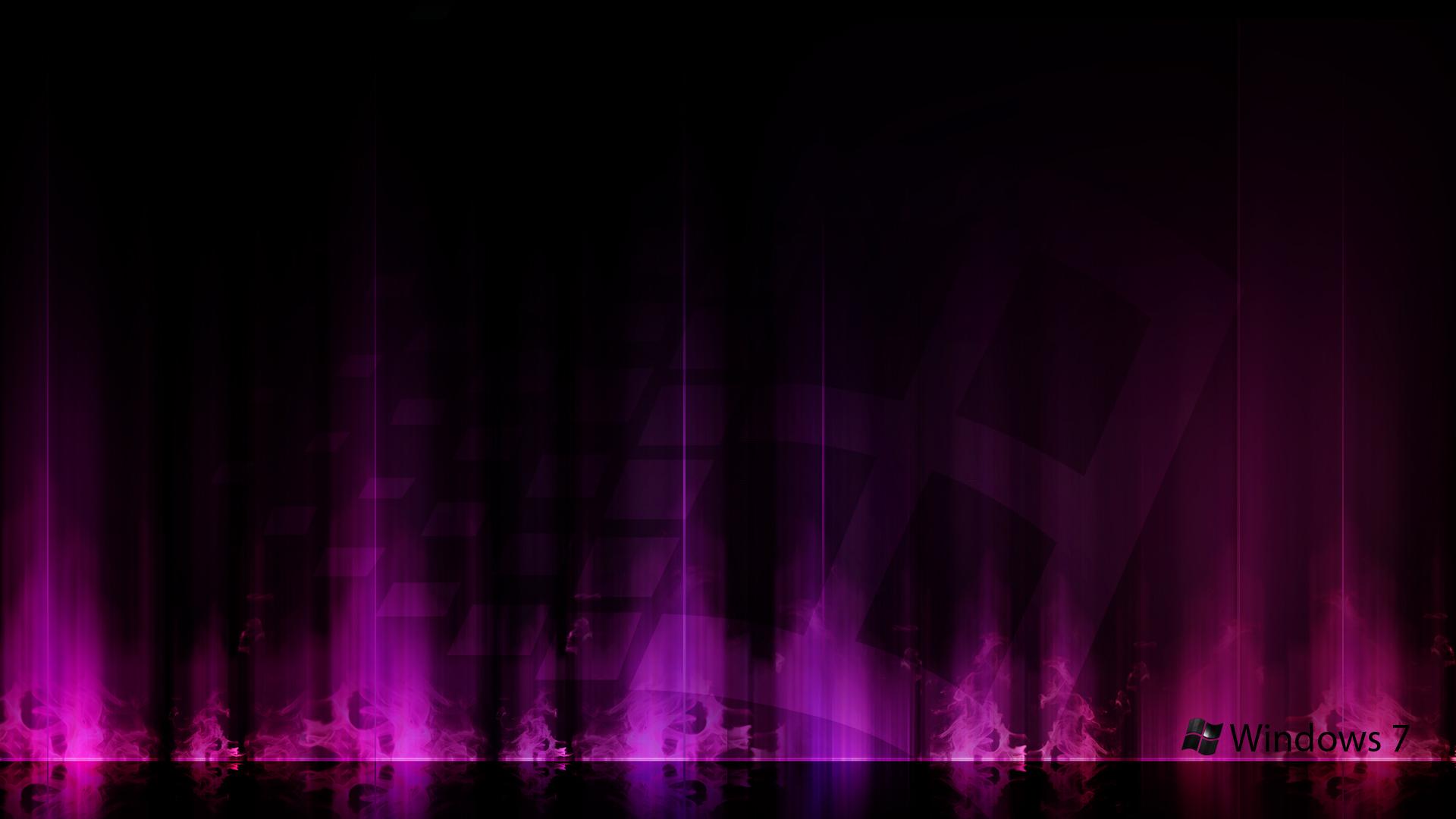 Windows 7 Purple Aurora Wallpapers HD Wallpapers 1920x1080