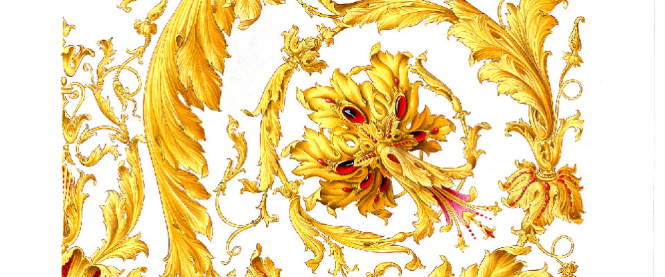 Versace Pattern Wallpaper Versace designs created by 960x400