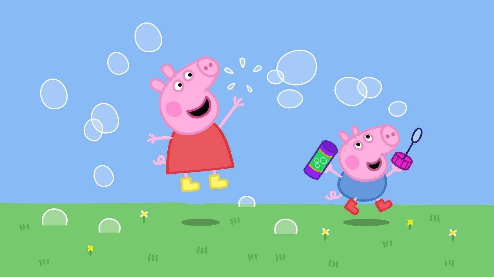 Peppa Pig House Wallpaper   NawPic