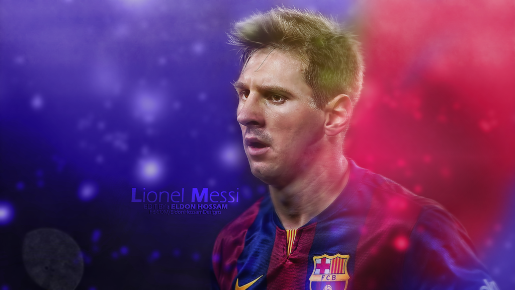 Lionel Messi Wallpaper 2014 2015 by EldonHossam 1024x576