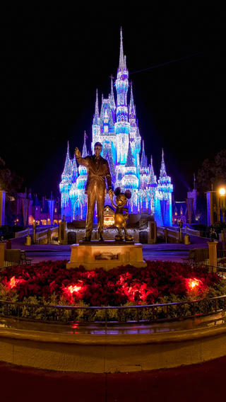 Disney World Christmas Iphone Wallpaper