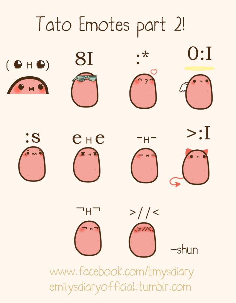 Tato Emotes part 2 by EmilysDiary 789x1012