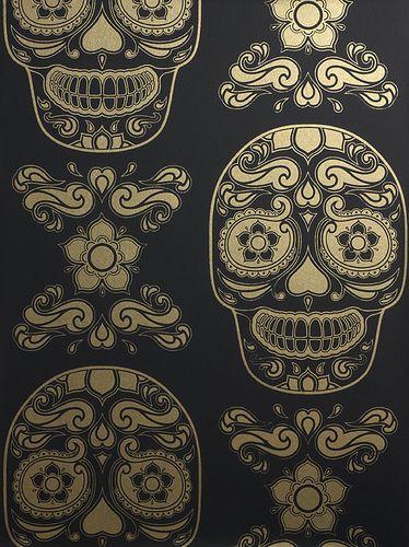 48+] Sugar Skull Wallpaper for iPhone on WallpaperSafari