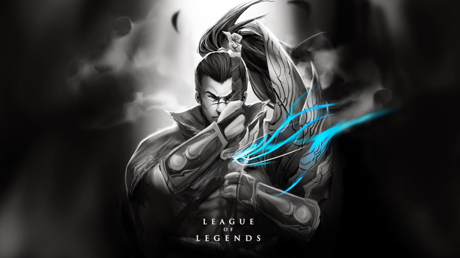 Yasuo League of Legends Wallpaper, Yasuo Desktop Wallpaper