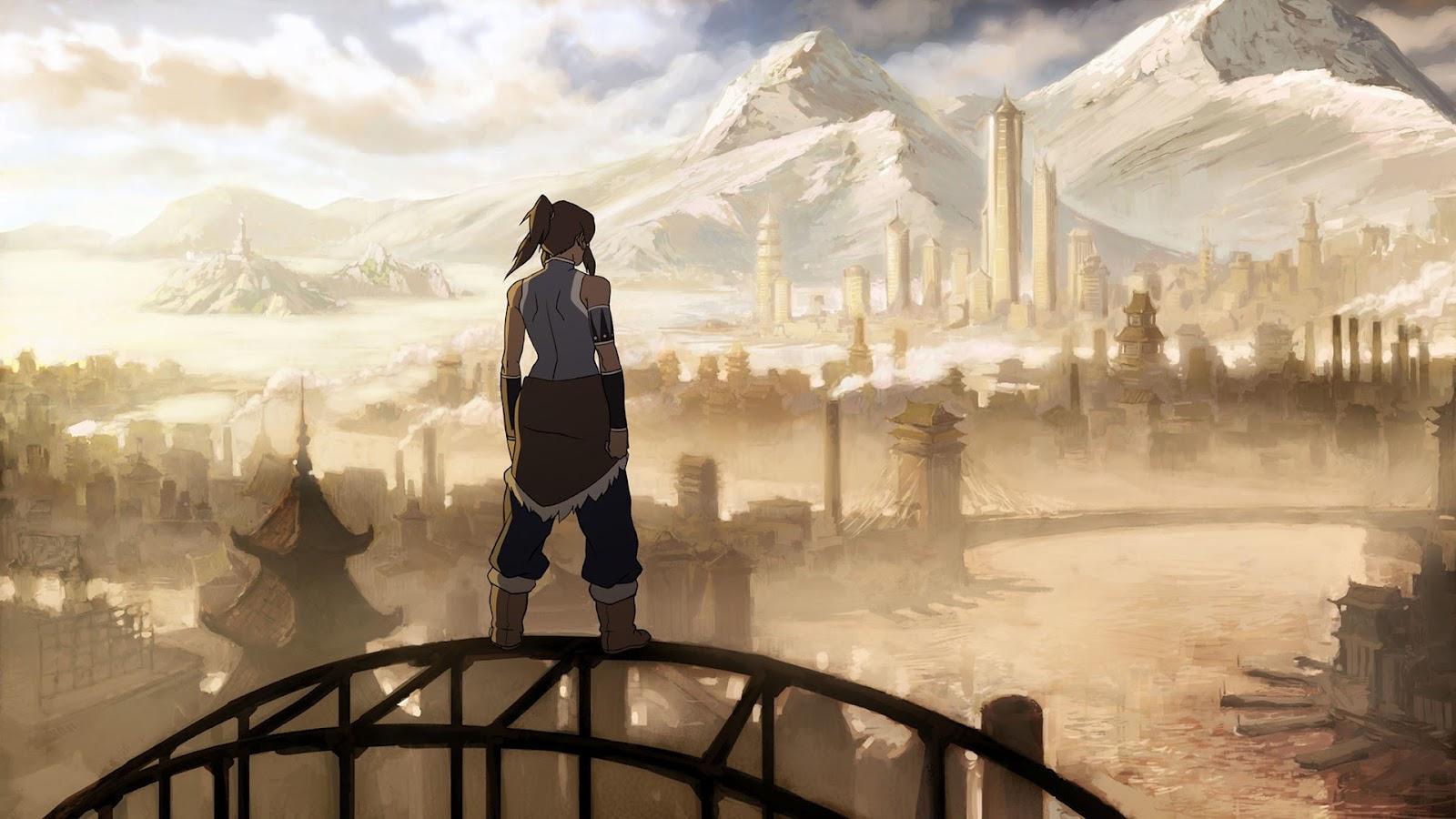 Dwonload Avatar the Legend of Korra PowerPoint Backgrounds 1600x900